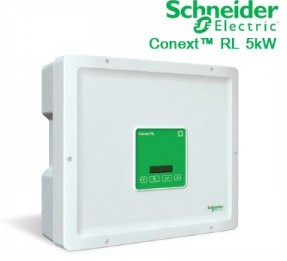 อินเวอร์เตอร์ โซล่าเซลล์ Schneider Single-phase grid-tie inverter5kw Conext RL 5000 E ได้ผ่านการรับรองจาก กฟภ และ กฟน
